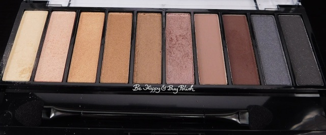 Wet N Wild Au Naturel Bare Necessities eyeshadow palette | Be Happy And Buy Polish