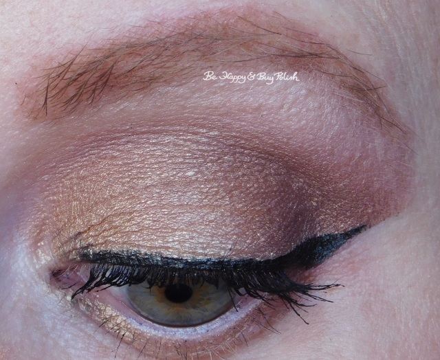 eyeshadow look with Tarte Rainforest After Dark eyeshadow palette Bare to Explore, Up to No Gold, Plum Away with Me | Be Happy And Buy Polish