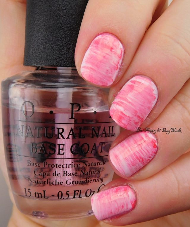 fan brush gradient nail art with OPI Mod About You, Suzi Shops & Island Hops, Suzi's Hungary Again, Charged Up Cherry | Be Happy And Buy Polish