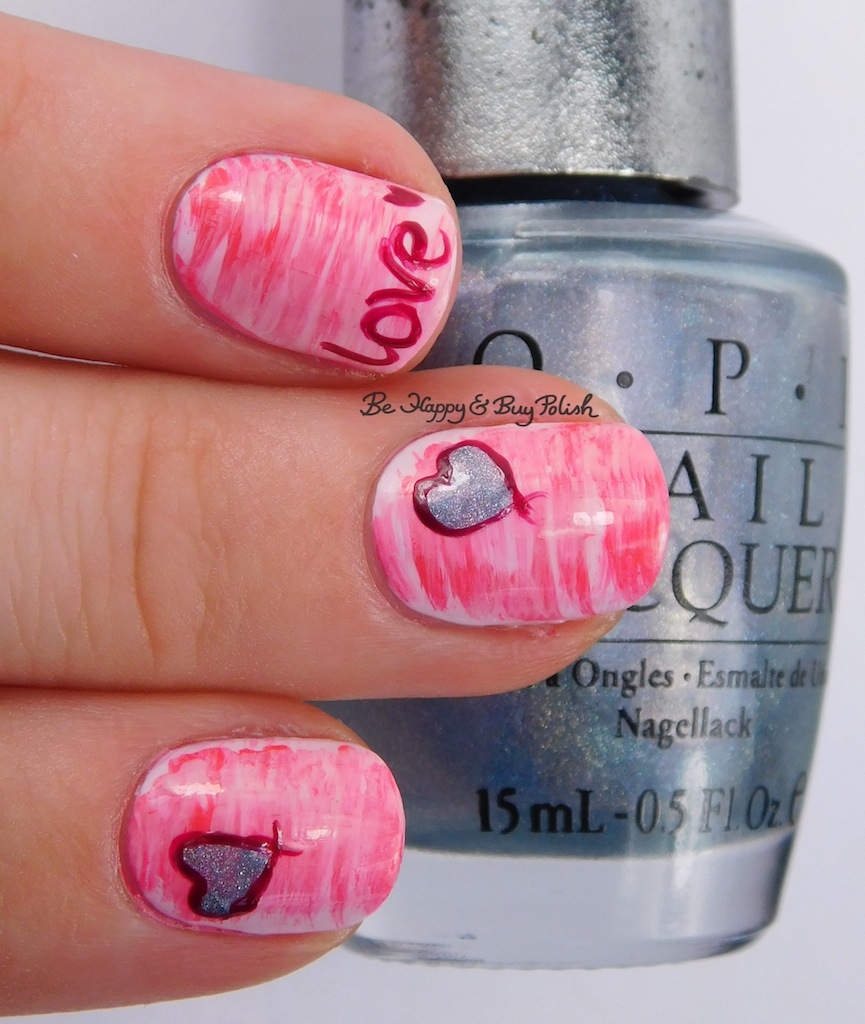 Fan Brush Gradient with OPI polishes | Be Happy and Buy Polish