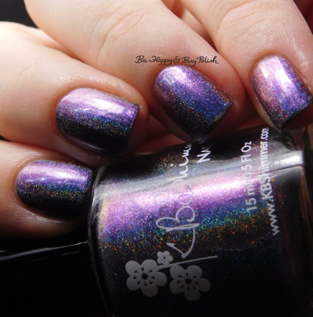 KBShimmer None of Your Bismuth blurple | Be Happy And Buy Polish