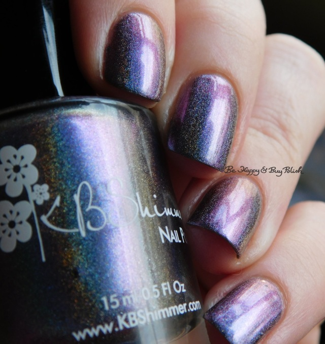 KBShimmer None of Your Bismuth bruised purple | Be Happy And Buy Polish