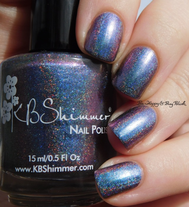 KBShimmer None of Your Bismuth holographic multichrome | Be Happy And Buy Polish