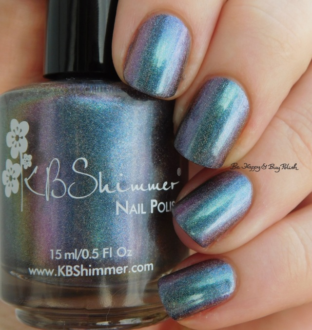 KBShimmer None of Your Bismuth teal shift shade photo | Be Happy And Buy Polish