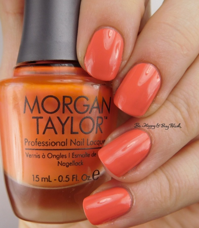 Morgan Taylor Candy Coated Coral | Be Happy And Buy Polish
