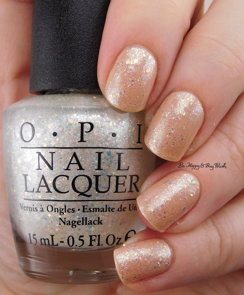 OPI Samoan Sand + Make Light of the Situation layered manicure | Be ...