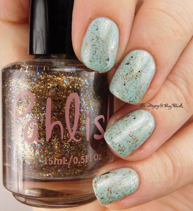 Pahlish Golden Egg over Pahlish Loftiest Muse | Be Happy And Buy Polish