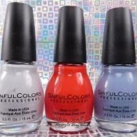 Sinful Colors Be Yourselfie nail polish collection swatches + review