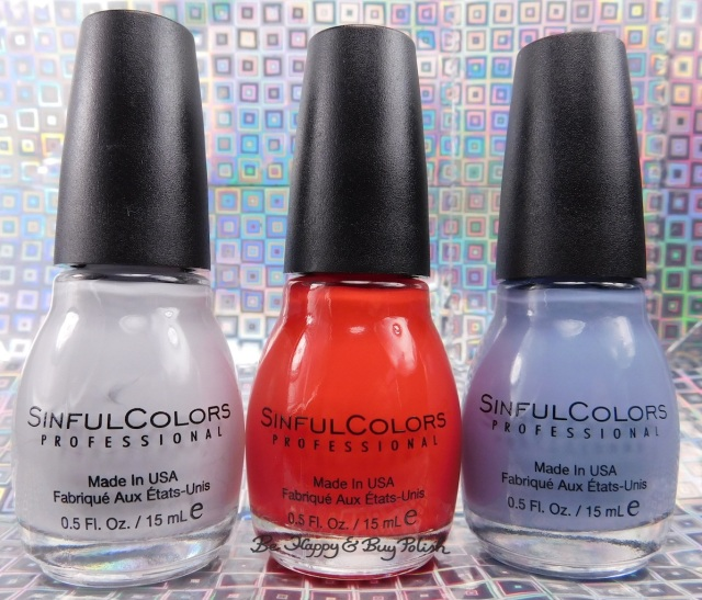 Sinful Colors Be Your Selfie nail polish collection | Be Happy And Buy Polish