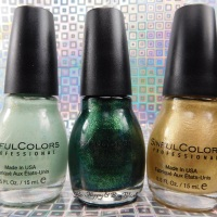 Sinful Colors Luck of the Stylish nail polish collection swatches + review
