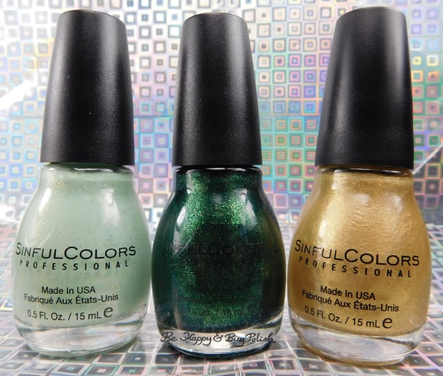 Sinful Colors Luck of the Stylish nail polish collection | Be Happy And Buy Polish