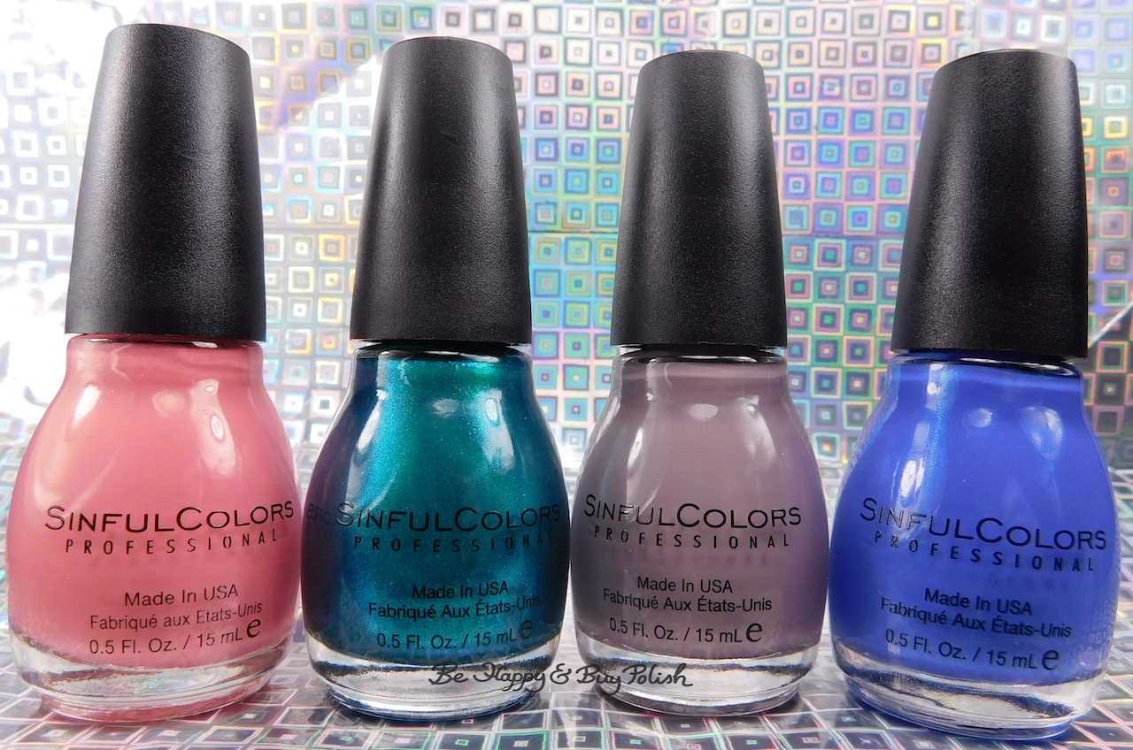 The weekend I went crazy buying Sinful Colors nail ...