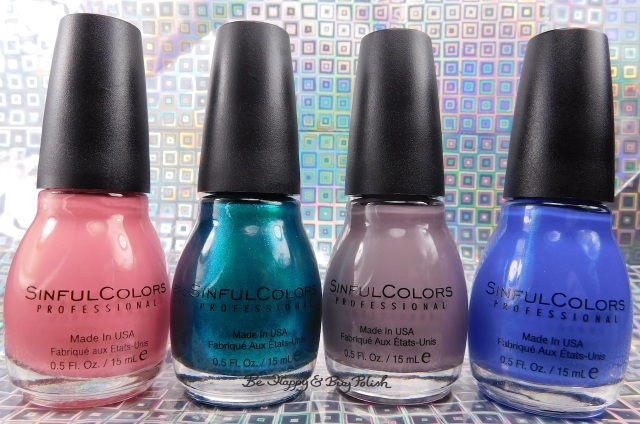 Sinful Colors Soul Mate, Jade Kat, So Daupe!, Deep End nail polish core collection | Be Happy And Buy Polish