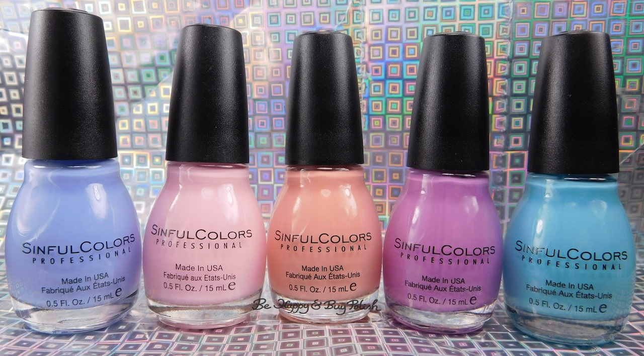 Sinful Colors Chic Chicas nail polish collection swatches + review ...