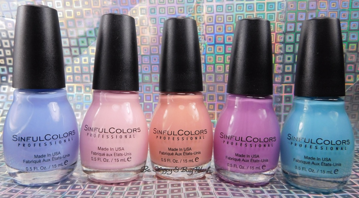 Sinful Colors Chic Chicas nail polish collection swatches + review