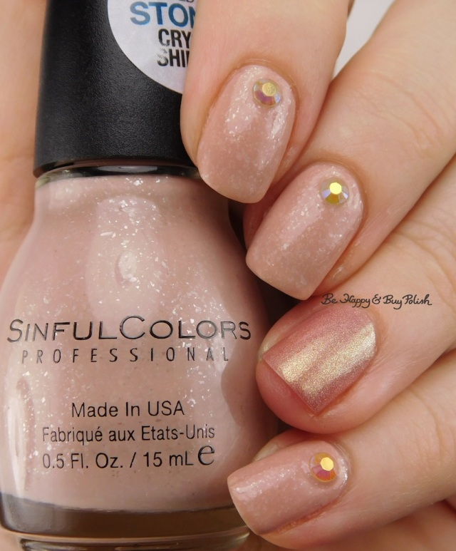 Sinful Colors Stoned Crystal Shimmer Just Deserts, Femme Fatale Cosmetics Hourglass | Be Happy And Buy Polish