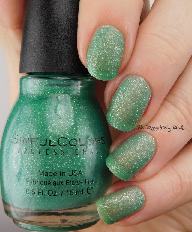 Sinful Colors Sweeten the Teal macro | Be Happy And Buy Polish