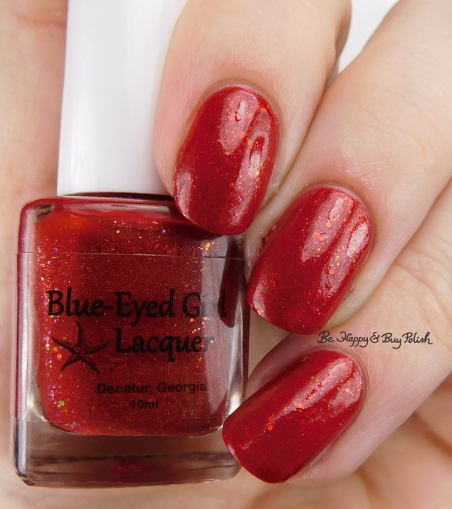 Blue-Eyed Girl Lacquer Siren's Fever Dream S.E. Encore | Be Happy And Buy Polish
