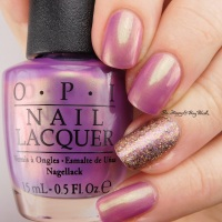OPI Significant Other Color + Different Dimension Ursa Minor manicure