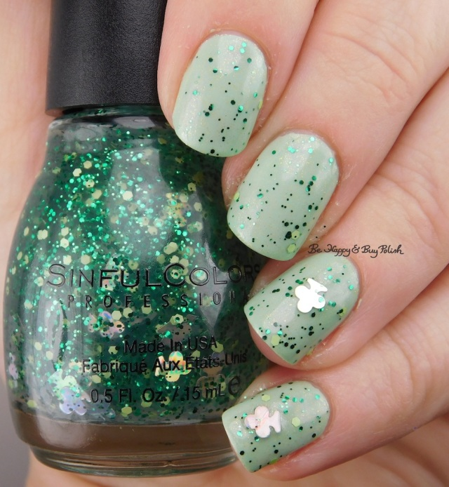Sinful Colors I'm Clover It over Works Like a Charm | Be Happy And Buy Polish