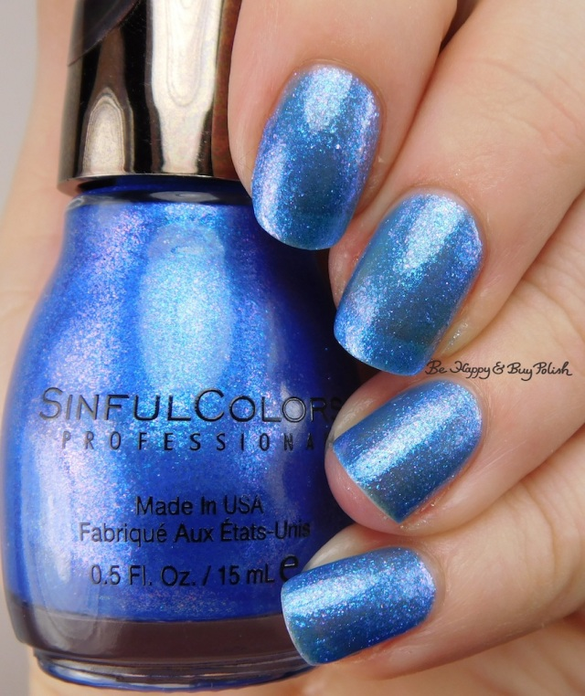 Sinful Colors Kandee Johnson Blueberry Hot Rod | Be Happy And Buy Polish