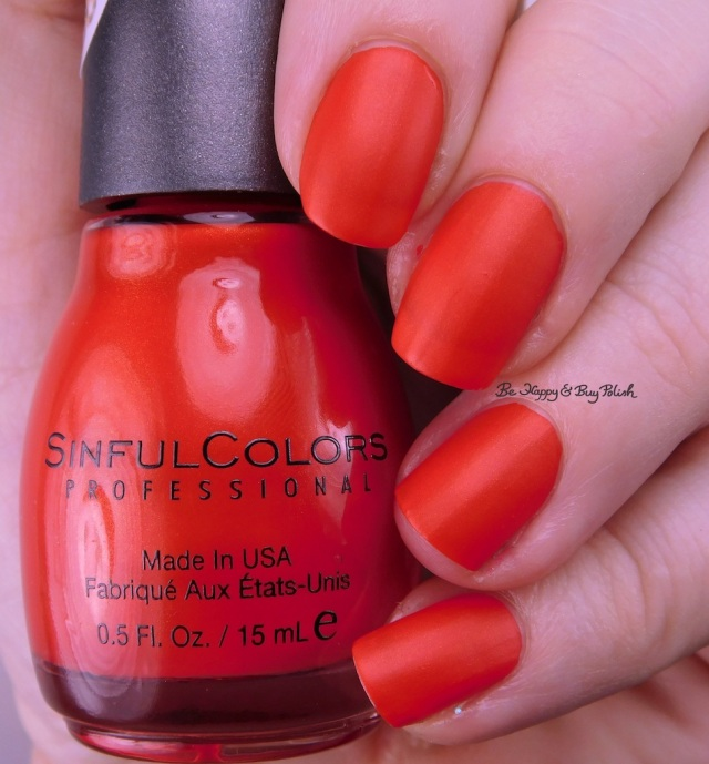 Sinful Colors Kandee Johnson Cherry on Top | Be Happy And Buy Polish