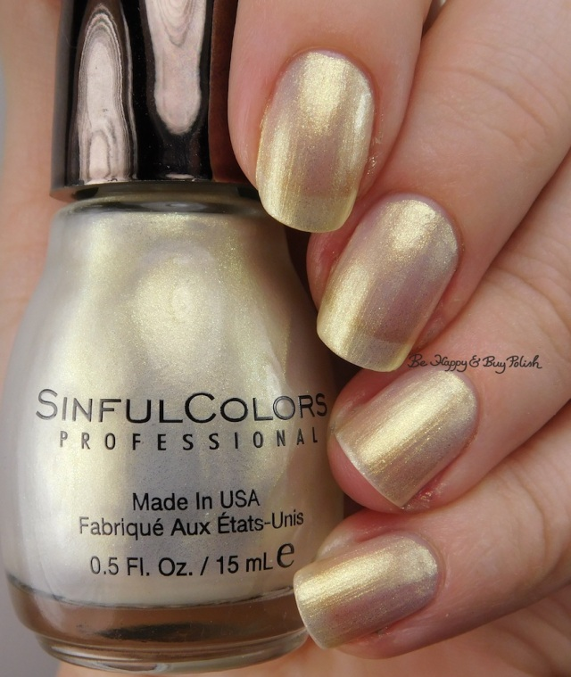 Sinful Colors Kandee Johnson Dripping in Pearls | Be Happy And Buy Polish