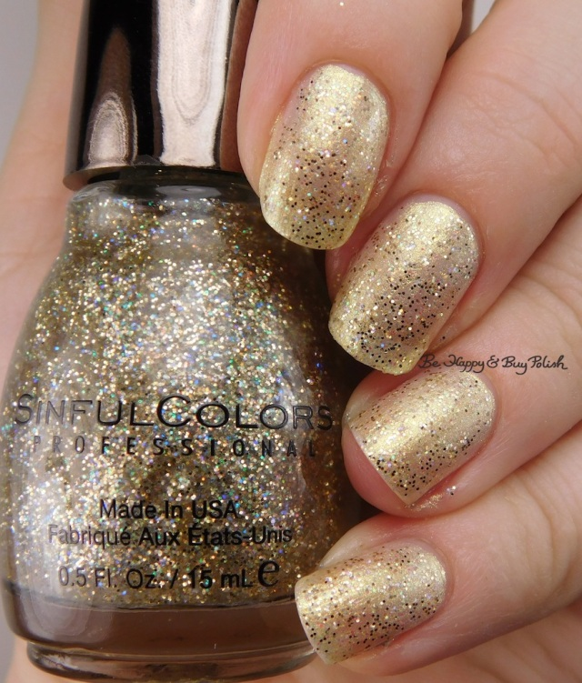 Sinful Colors Kandee Johnson Heart of Gold over Dripping in Pearls | Be Happy And Buy Polish