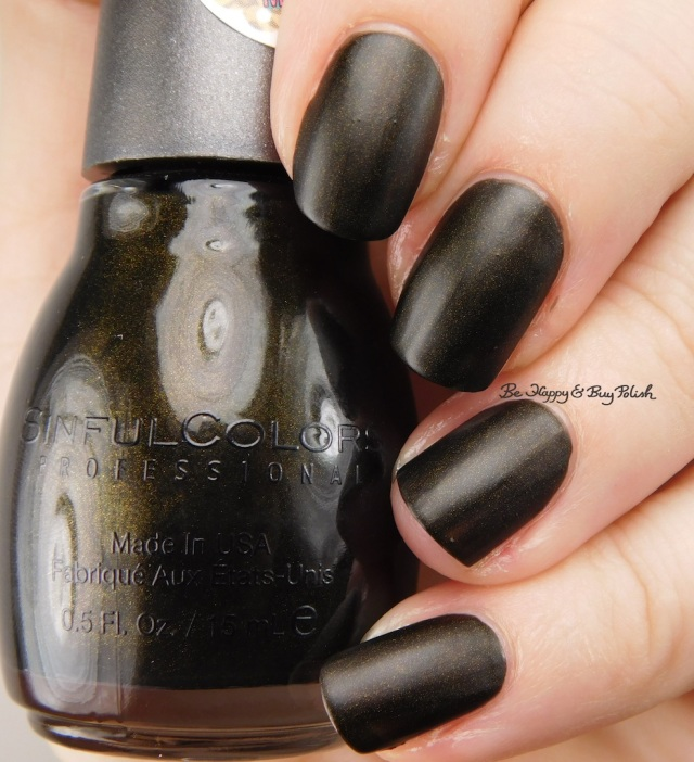 Sinful Colors Kandee Johnson Licorice | Be Happy And Buy Polish