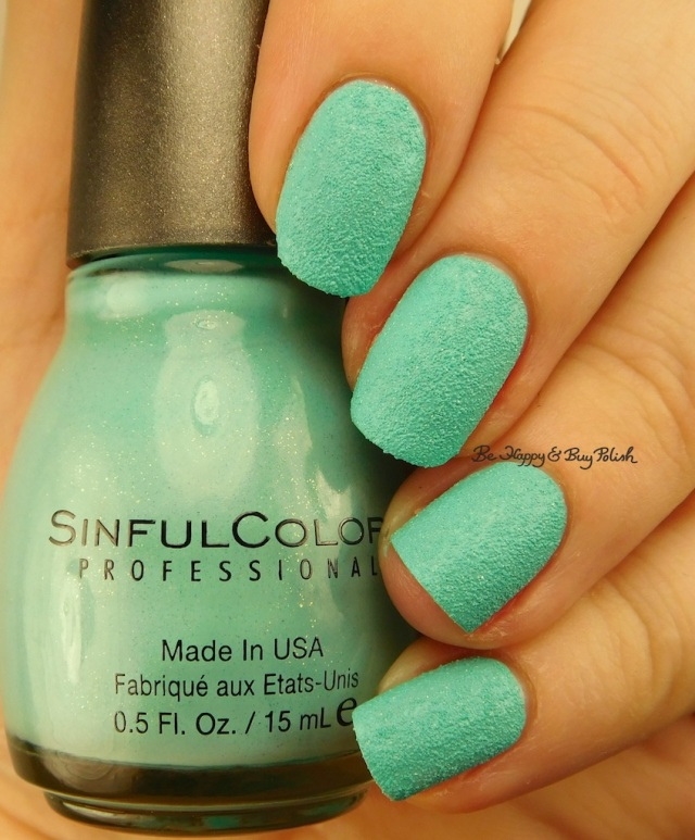 Sinful Colors Kandee Johnson Mint Sugar | Be Happy And Buy Polish