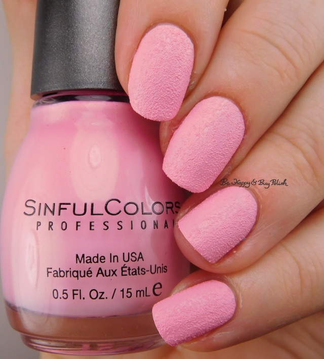 Sinful Colors Kandee Johnson Pink Sugar | Be Happy And Buy Polish