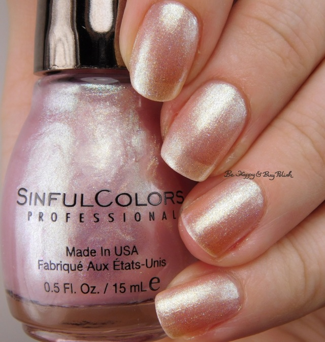 Sinful Colors Kandee Johnson Pinksicle | Be Happy And Buy Polish