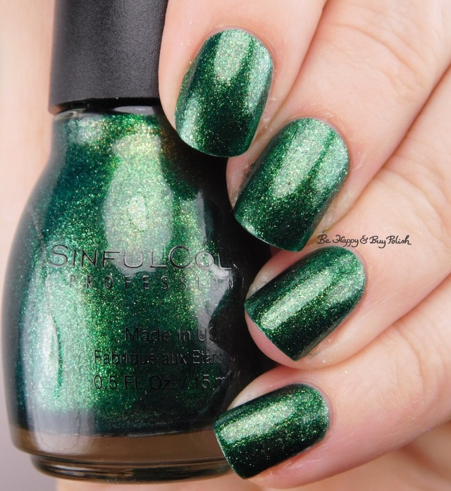 Sinful Colors Queen of Green | Be Happy And Buy Polish
