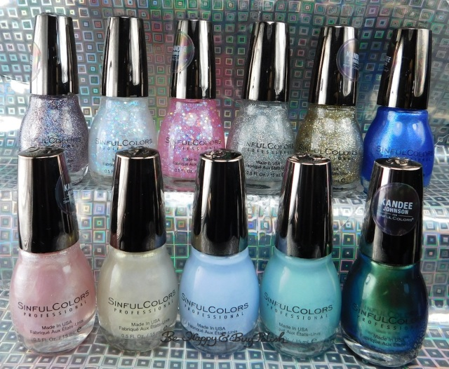 Sinful Colors Vintage Anime Kandee Johnson nail polish collection | Be Happy And Buy Polish