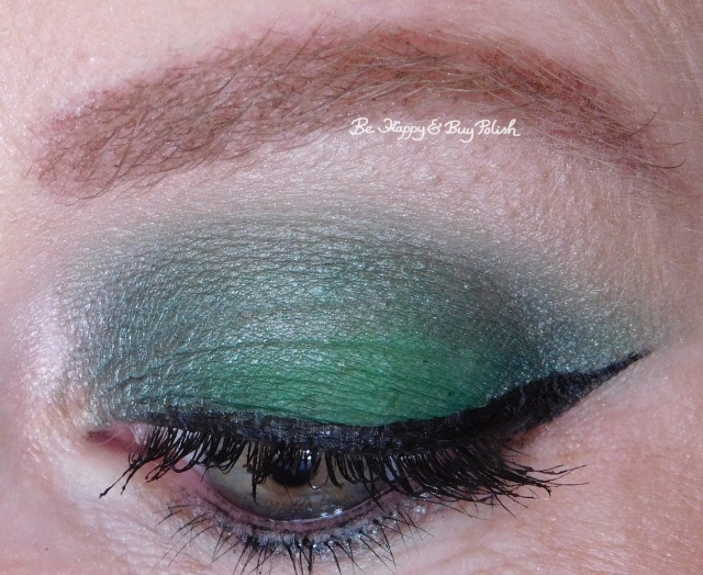 Urban Decay Hatter, C-Note, Looking Glass, Lily eyeshadows | Be Happy And Buy Polish
