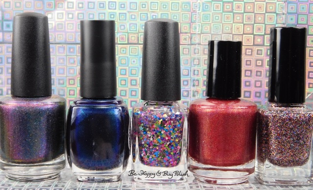 Anonamaker Box 4 Cameo Colours Lacquers, Contrary Polish, Lollipop Posse Lacquer, ellagee, Pretty Jelly | Be Happy And Buy Polish