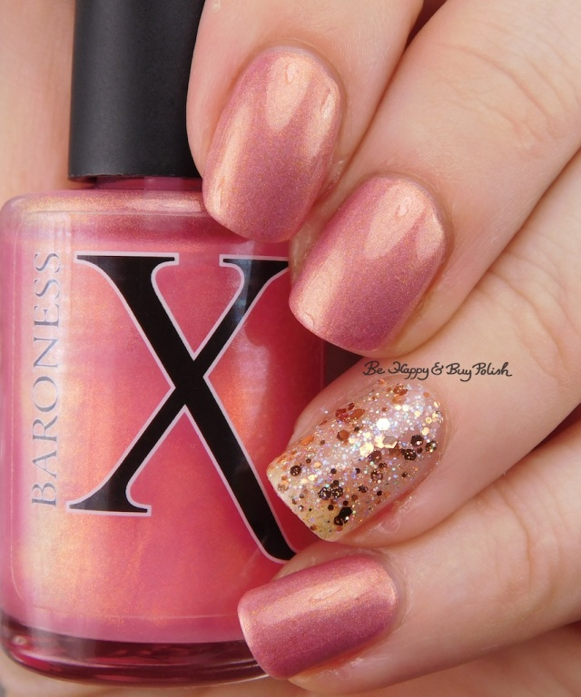 Baroness X Fire Opal over Baroness X Be Happy | Be Happy And Buy Polish