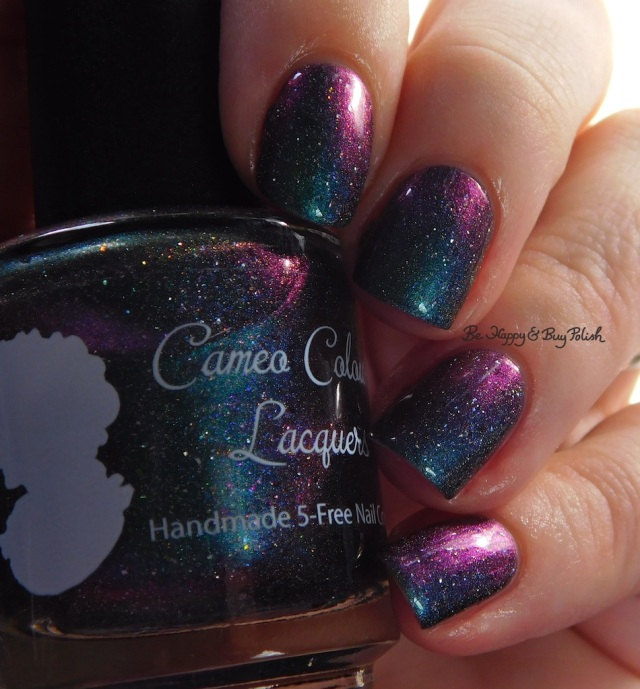 Cameo Colours Lacquers I Feel Petty Oh So Petty teal purple shift | Be Happy And Buy Polish