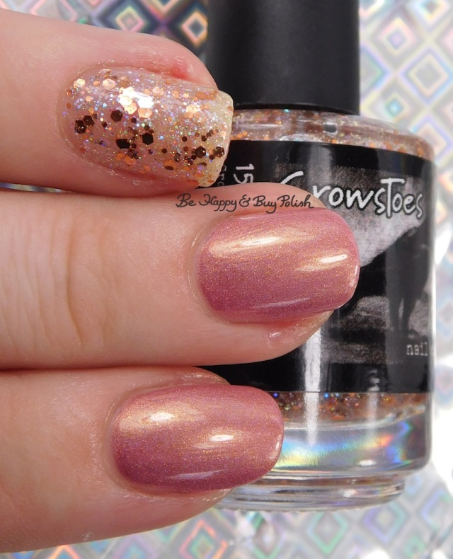 CrowsToes Nail Color Buy Polish, Baroness X Be Happy | Be Happy And Buy Polish