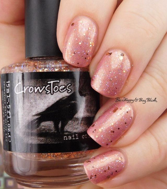 CrowsToes Nail Color Buy Polish over Baroness X Be Happy | Be Happy And Buy Polish