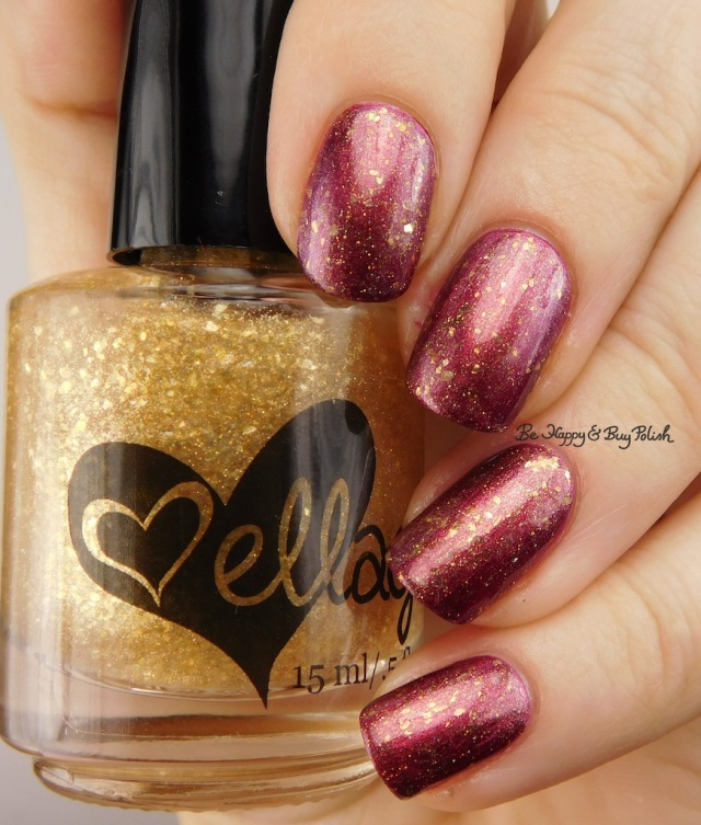 ellagee Punch a Higher Floor over Sephora by OPI Ruby without a Cause | Be Happy And Buy Polish