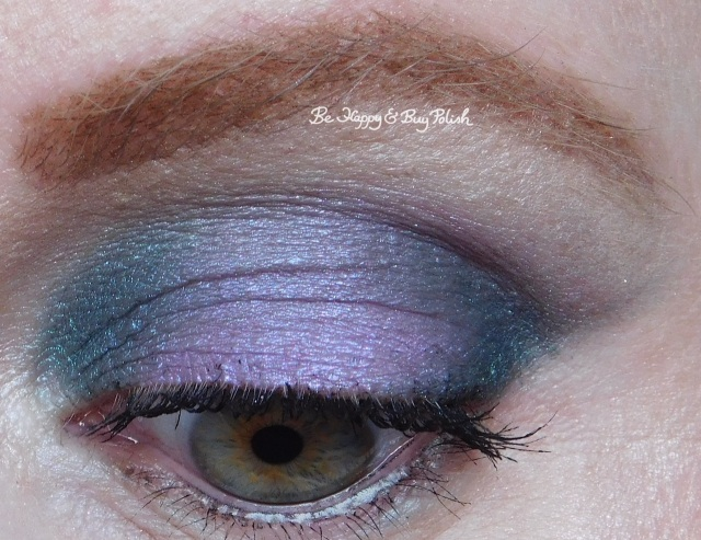 Glamour Doll Eyes 4th Date, Midnight Kiss, Fiji Mermaid eyeshadows | Be Happy And Buy Polish
