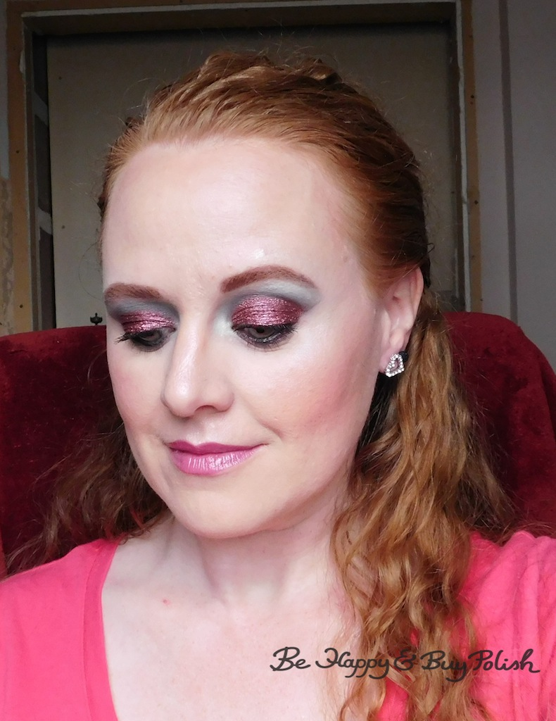 Makeup Look With Glamour Doll Eyes And NYX Cosmetics