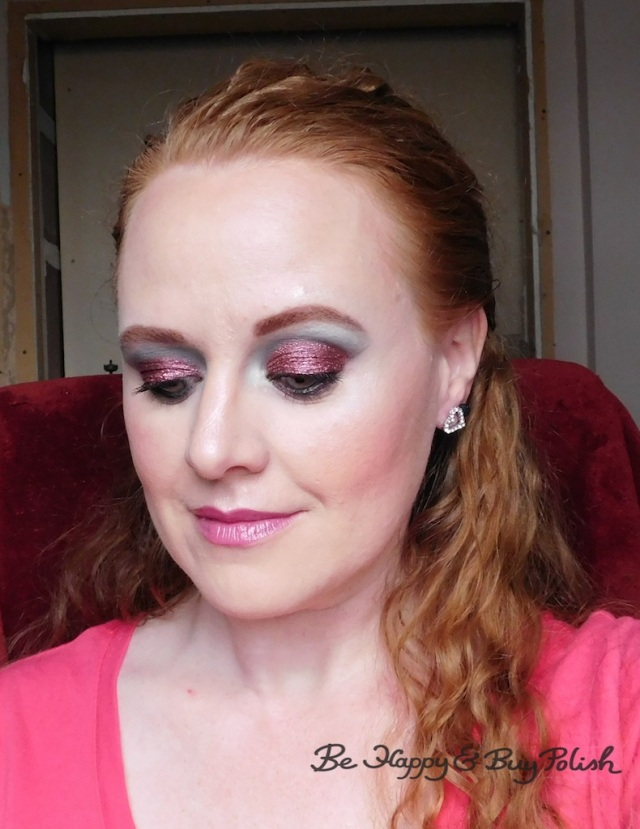 Glamour Doll Eyes, Coastal Scents, Nyx Cosmetics makeup look | Be Happy And Buy Polish