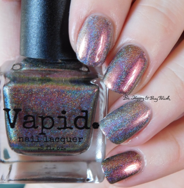 Great Lakes Lacquer The Centre Cannot Hold versus Vapid Lacquer Cyber Punk magenta | Be Happy And Buy Polish