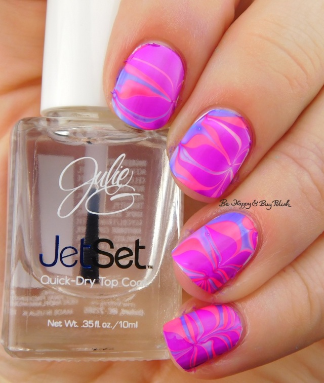 JulieG Fierce & Fab, Oh Em Gee, Cabana Boy watermarble | Be Happy And Buy Polish