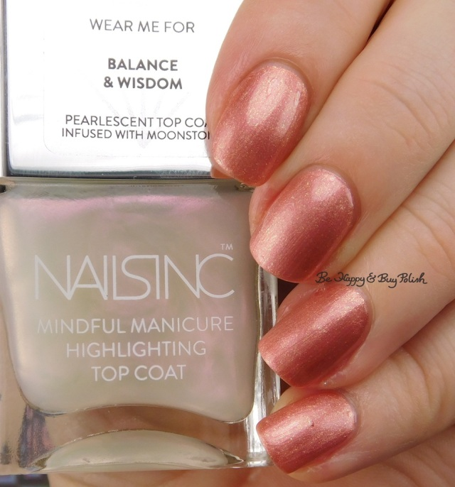 Nails Inc Mindful Manicure Balancing Act over And Breathe | Be Happy And Buy Polish