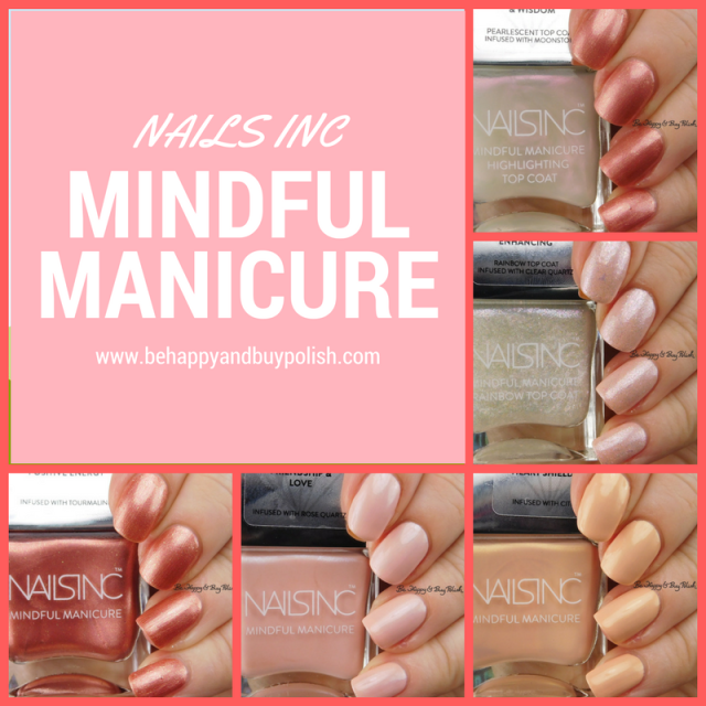Nails Inc Mindful Manicure nail polish collection | Be Happy And Buy Polish