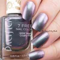 Pacifica Fantasea and Abalone nail polish swatches + review