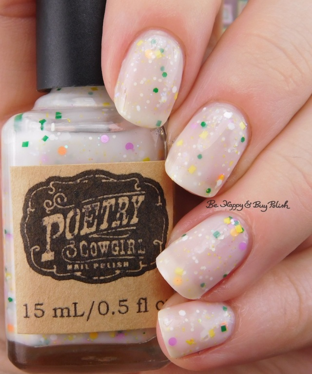 Poetry Cowgirl Nail Polish Crocuses in Snow | Be Happy And Buy Polish